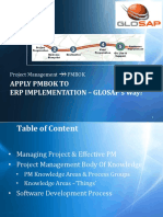 Glosap's Pmbok - Pmp Way of Pm