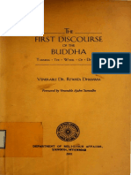 The First Discourses of the Buddha 'Turning the Wheel of Dhamma' - Dr.rewata Dhamma 001132 OCR Text