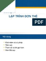 04 Nhap Mon Lap Trinh - Lap Trinh Don The