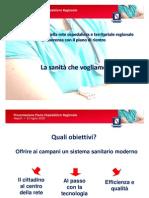 Presentazione Piano Ospedaliero Regionale Napoli 31 Luglio 2010