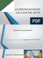 La Comunicación Es La Clave Del Éxito