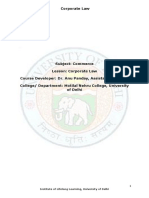 Corporate Law by Anu Panday