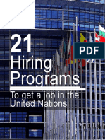 21 Hiring Programs to Get a Job in the United Nations by YPUN Ltd