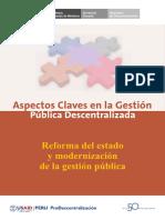 Reforma Del Estado y Modernizacion de La Gestion Publica (1)