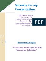Habib Presentation Eee