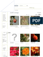 Plantes Pour Composer Un Jardin Orange Hortimarine - Hortimarine