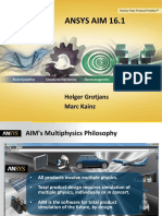 CFD 07 Grotjans Kainz ANSYS AIM-Update