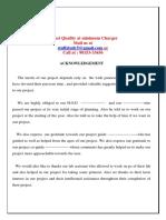 Poject Sample Filling Station Management System BCA B Tech