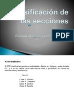 5.- Clasificacion de Las Secciones