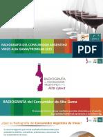 STG Consultora Radiografia de Vinos Alta Gama 2015 1
