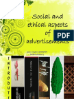 23231704 Social and Ethical Aspects of Advertisements