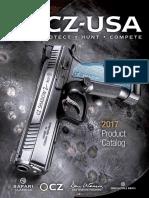 CZ USA 2017 Product Catalog