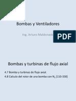 8 Clase Diseño Del Rotor Axial de Bombas y Turbinas