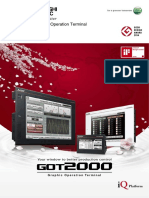 Mitsubishi Graphic Operation Terminal GOT2000 Series (Catalog) - l08270engc