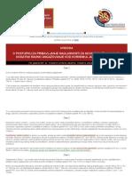 Uredba o Postupku Za Pribavljanje Saglasnosti Za Novo Zaposljavanje i Dodatno Radno Angazovanje Kod Korisnika Javnih Sredstava