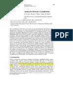 Growth Rate Kinetics for Struvite Crystallisation