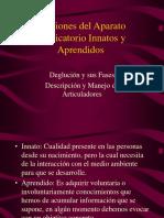 Funciones Del Aparato Masticatorio Innatos y Aprendidos 2016