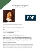 Descartes Preguntas y Respuestas