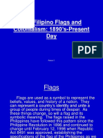 The Filipino Flags and Colonialism