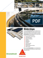 SIKA Waterstops Brochure for Web