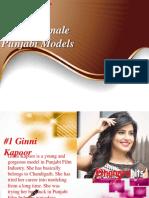 Top Punjabi Models