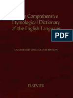Kleins Comprehensive Etymological Dictionary of the English Language-searchable
