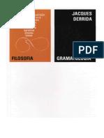 DERRIDA Jacques Gramatologia