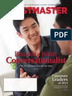 Toastermaster Magazine Dec 2014