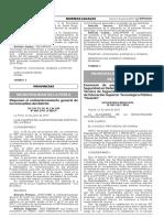 Exoneran de pago al Certificado de Seguridad en Defensa Civil y por Inspección Técnica de Seguridad a favor del Instituto de Educación Superior Tecnológico Público Huando