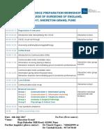 OSCE Programme 2017