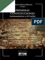 Primeras Constituciones. Latinoamerica y El Caribe. de Nelson Chavez