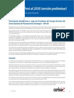 1. Propuesta de Imagen Del Perú Al 2030 Presentada Al Acuerdo Nacional 14.02.17