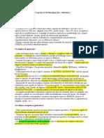 Resumo p1 Tarantela
