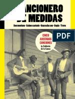 Cancionero 5 · CANCIONERO DE MEDIDAS · Cinco Ajustadas Canciones By Calderón de la Canoa
