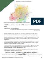 100 Herramientas Para El Análisis de Redes Sociales #Sna #Ars