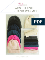 Purl Soho Hats Hand Warmers for Beginners