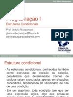 04 - Estruturas Condicionais