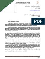 M5S Richiesta Commissariamento Regione Abruzzo - Gentiloni