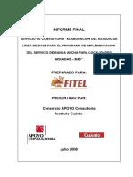 Informe Final Fitel