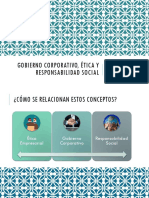Gobierno Corporativo, Ética y Responsabilidad Social