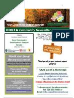 COSTA Newsletter - July 2017