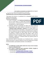 Recalificacion Carnet del Conadis Ecuador