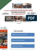 Presentación Informe de Gestión de La UEP 06-07-17
