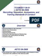 AETCI 36-2909 19 AF Training Slides