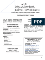 Newsletter Oct. AIR