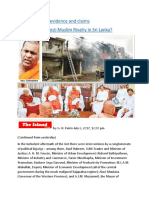 A reappraisal of evidence and claims Emerging Buddhist MuslimRivalry in Sri Lanka.docx