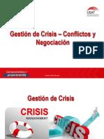 Clase 15 - Gestión de Crisis - Conflictos y Negociación