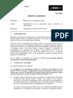 133-17 - MARIA FE ALVAREZ CALDERON CAMPOS - Impedimentos c y j Para Ser Participante-postor - Contratista Y-o Subcontratista (T.D. 11030029)