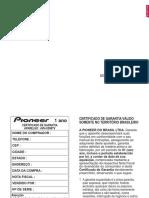 Pioneer Avh x598tv