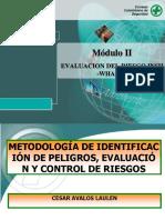 Evaluación de Riesgo Y Tipos d Analisis d Riesgo.